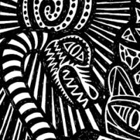 Chantiers en noir et blanc