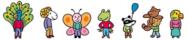 personnages fete