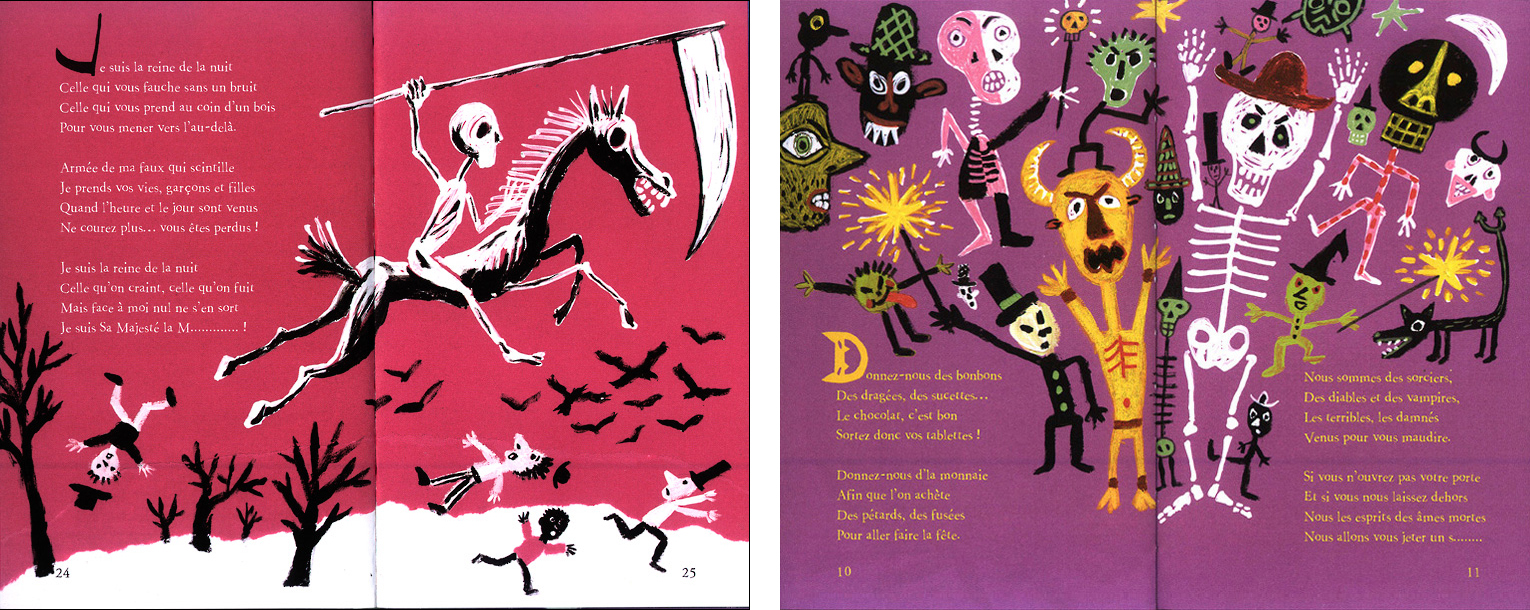 Halloween Fred Sochard Illustration