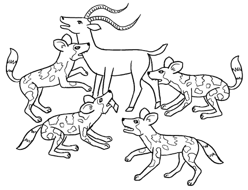 A l attaque fred sochard illustration - Gazelle dessin ...