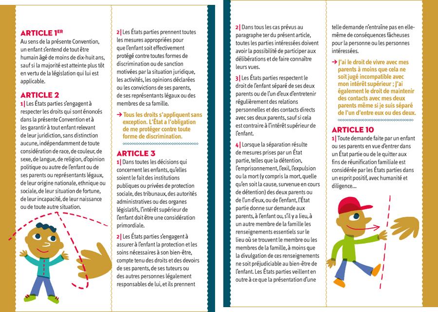 Souvent Les droits de l'enfant | Fred Sochard illustration JQ57