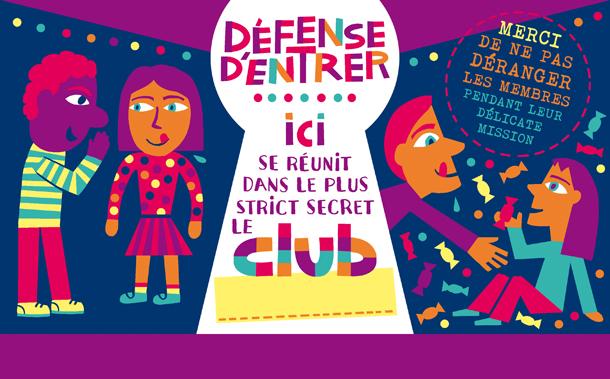 CLUB panneau defense