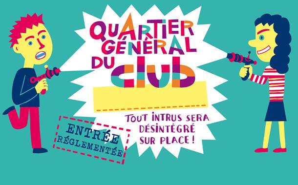 CLUB panneau QG