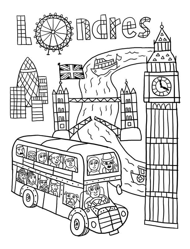 лондон раскраска для малышей летающие танки россии